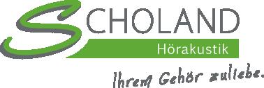 Scholand Hörakustik - Ihrem Gehör zuliebe.